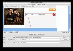 Audioro iPhone Converter screen1