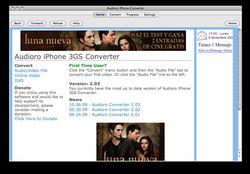 Audioro iPhone Converter screen2
