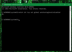 Augmenter bande passante Windows (3)
