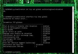 Augmenter bande passante Windows (4)