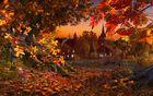Autumn Wonderland : un écran de veille automnal
