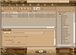 AV Music Morpher Gold screen 1