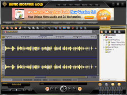 AV Music Morpher Gold screen 2