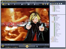 AV Video Morpher screen 1