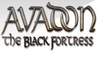 Avadon The Black Fortress logo 2