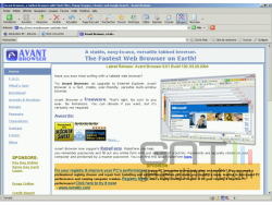 Avant browser small