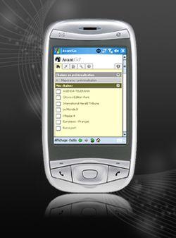 AvantGo PDA