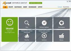 avast! Antivirus 8 screen1