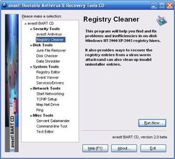 avast antivirus BART CD