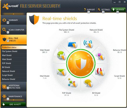 Avast File Server Security screen2