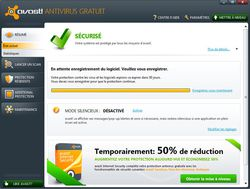 avast! Free Antivirus screen 1