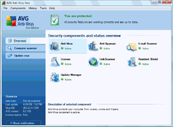 AVG Anti-Virus Free Edition screen2