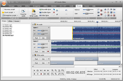 AVS Audio Editor screen 2