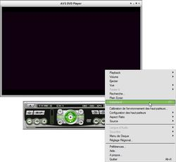 AVS DVD Player capture