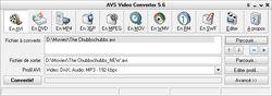 AVS Video Converter Interface 2
