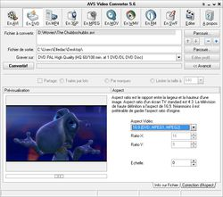 AVS Video Converter Ratio