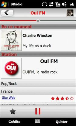 B Radio Baracoda Windows Mobile 01