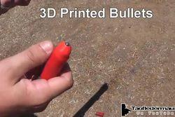 balle fusil imprimée