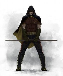 Batman Arkham City Robin