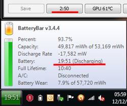 BatteryBar screen1