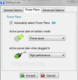 BatteryCare screen1