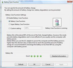 BatteryCare screen2