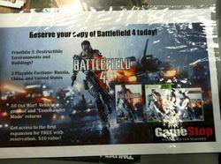 Battlefield 4 - affiche