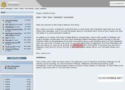 Beehive Forum screen2