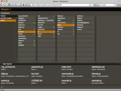 Bespin_firefox dashboard