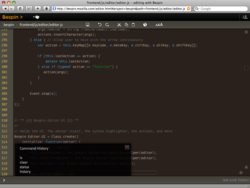 Bespin_webkit editor