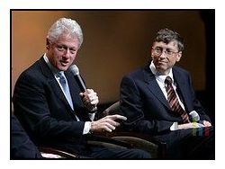 Bill gates bill clinton small