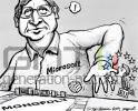 Bill gates commission europeenne dessin
