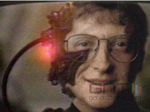 Bill gates cyborg