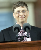 Bill gates harvard