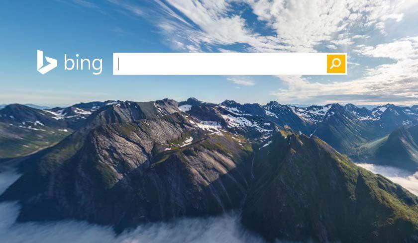 Bing le meilleur moteur de recherche pour trouver du for Meilleur moteur de recherche pour hotel