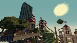 BioShock Infinite Minecraft - 1