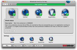 BitDefender Antivirus pour Mac screen
