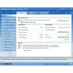 BitDefender Internet Security 2011 screen 1