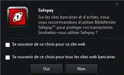 BitDefender Safepay 1