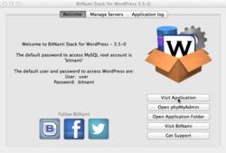 Bitnami Wordpress screen2