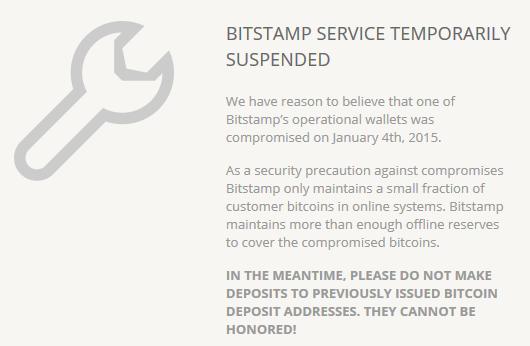 Bitstamp-maintenance