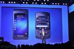 BlackBerry 10 terminaux