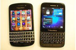 BlackBerry Q5 logo