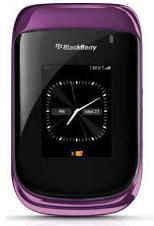 BlackBerry Style 9670 violet fermé
