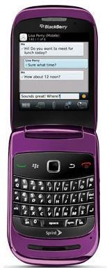 BlackBerry Style 9670 violet