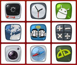 Blawb Icons screen 2
