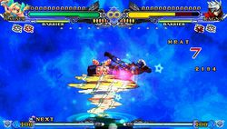 BlazBlue Continuum Shift 2 - PSP - 13