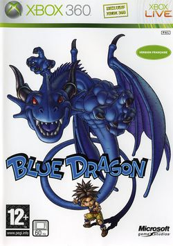 Blue dragon jaquette