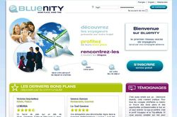Bluenity page accueil