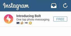 bolt instagram